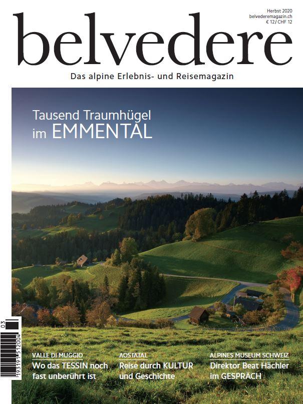 Cover Herbstausgabe belvedere © Tourimus Lifestyle Verlag GmbH