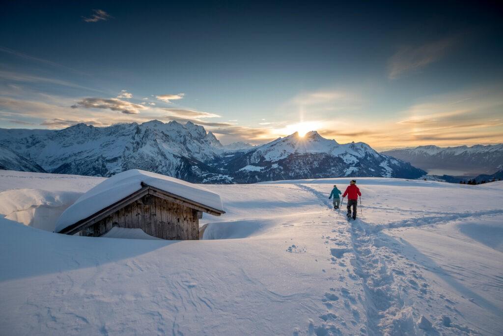 Schneeschuhlaufen am Hasliberg ©ZVG